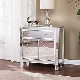 Southern Enterprises Celine Mirrored Cabinet, , rollover