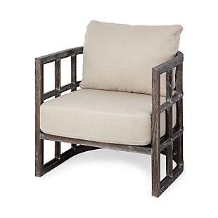 Mercana Skylar I Accent Chair, Cream, large