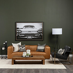 Mercana Watson Accent Chair, Black/Gold, rollover