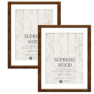 Timeless Frames  16x20 Supreme Woods 2 Pack Honey, Honey, large