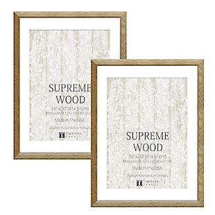 Timeless Frames  16x20 Supreme Woods 2 Pack Natural, Natural, large