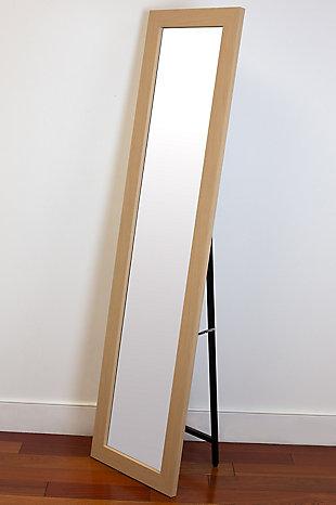 Home Basics Full Length Floor Mirror with Easel Back, , rollover