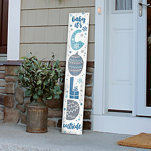 My Word! Porch Board with Baby It's Cold Outside, , rollover
