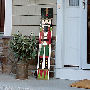 My Word! Porch Board with Nutcracker, , rollover