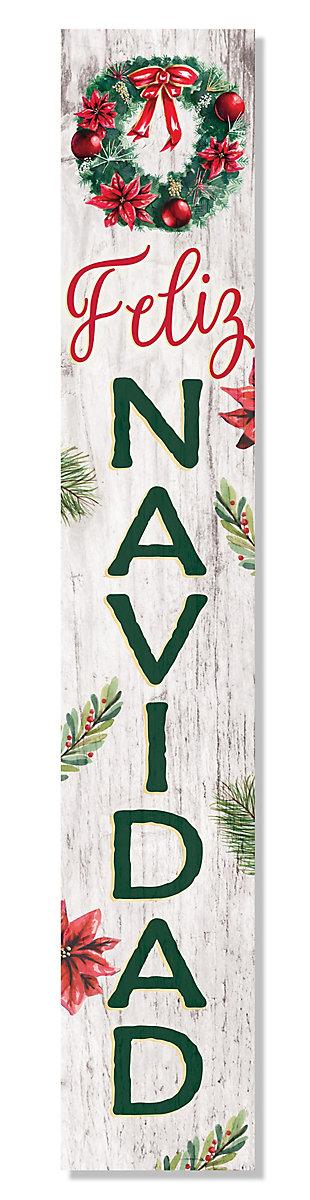 My Word! Porch Board with Feliz Navidad, , large