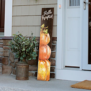 My Word! Porch Board with Hello Pumpkin Stack, , rollover