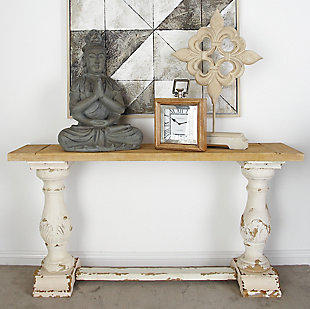 Bayberry Lane Vintage Wood Console Table, , rollover