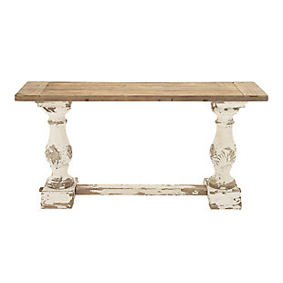 Bayberry Lane Vintage Wood Console Table, , large