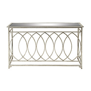 Bayberry Lane Metal Console Table, , large