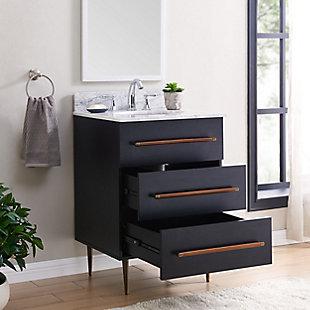 Southern Enterprises Ami Italian Marble Bath Vanity Sink, , large