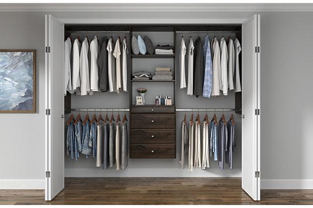 Easyfit Closet Storage Solutions 48 96, Ashley Furniture Wardrobe