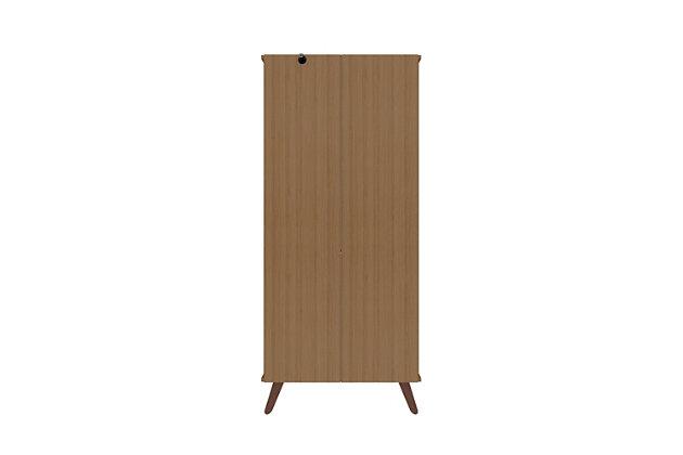 Hampton Display Cabinet, Maple Cream, large