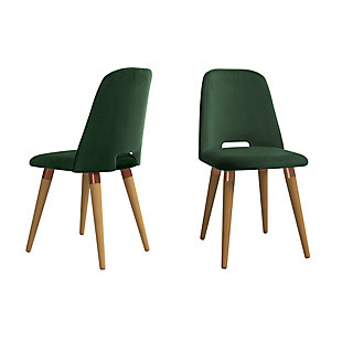 Selina Accent Chair (Set of 2), Green, large