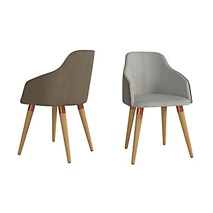 Martha Accent Chair (Set of 2), Gray, large
