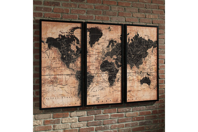 Pollyanna Wall Art (Set of 3), , large