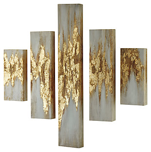 Devlan Wall Art (Set of 5), , large