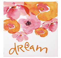 Pink/Orange/White View