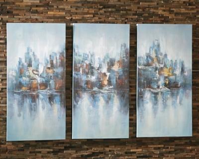Ashley Saide Wall Art (Set of 3), Multi