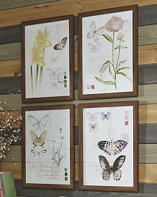 Carlisia Wall Art (Set of 4), , rollover