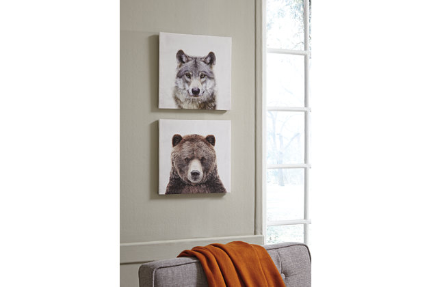 Albert Wall Art (Set of 2), , large