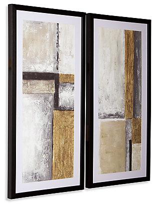 Jaxley Wall Art (Set of 2), , large
