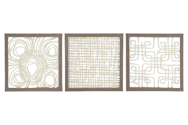 Odella Wall Decor (Set of 3), , large
