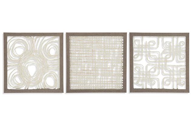 Odella Wall Decor (Set of 3), , large