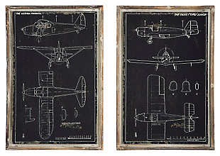 Odhran Wall Decor (Set of 2), , large