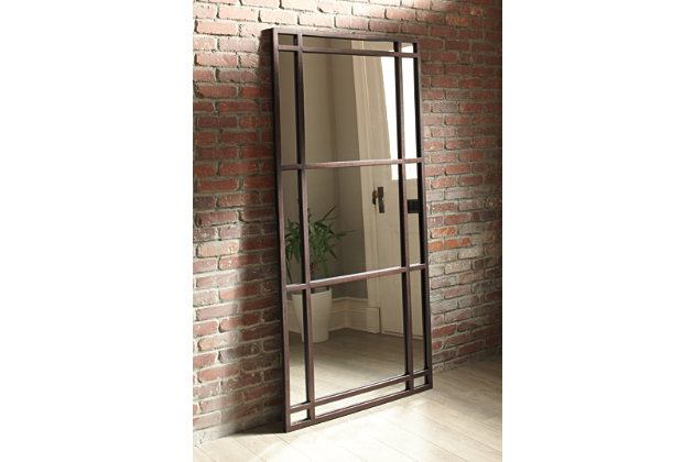 Eddard Floor Mirror, , large