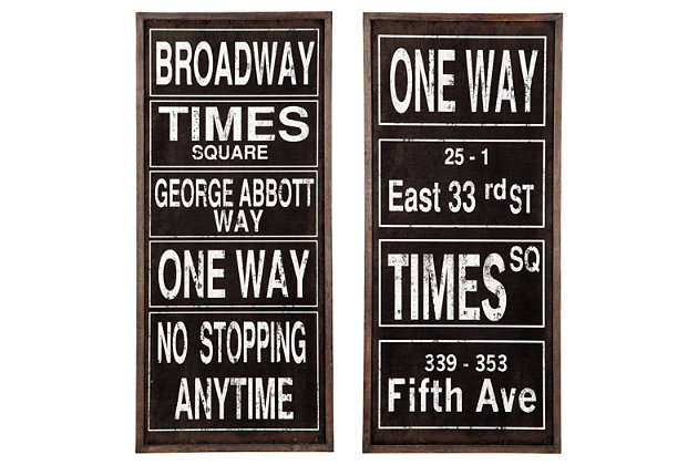 Destinarea Wall Decor (Set of 2), , large