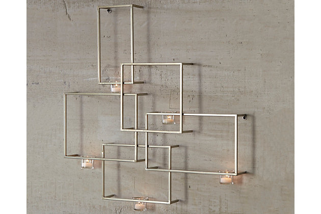 Drucilla Wall Sconce by Ashley HomeStore, Gold Finish