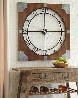 Palila Wall Clock, , large