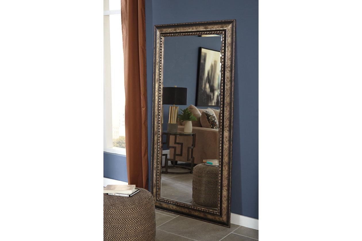 Dulal Floor Mirror Ashley Furniture Homestore