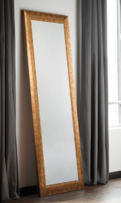 Dulce Accent Mirror by Ashley HomeStore, Gold Finish