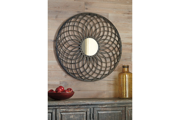 Dark Bronze Finish Durin Wall Sconce by Ashley HomeStore