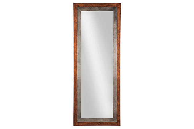 Niah Floor Mirror, , large