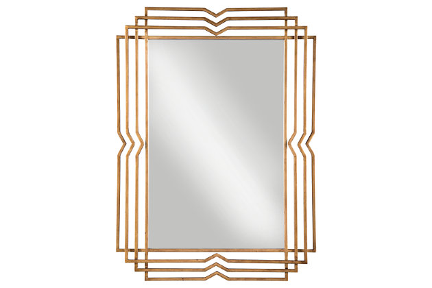Tracey Accent Mirror, , large