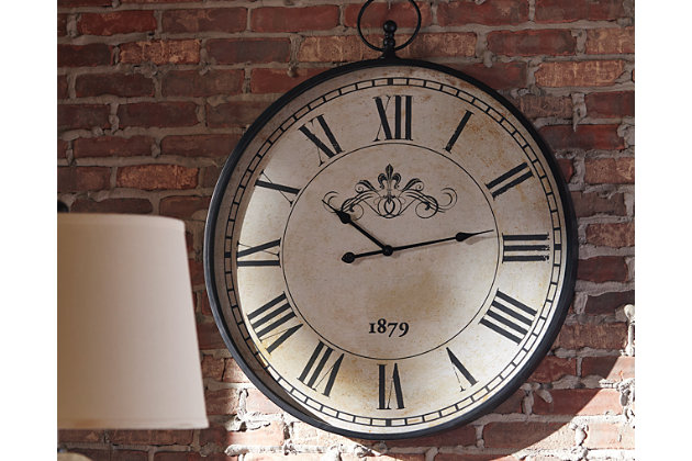 Augustina Wall Clock Ashley Furniture Homestore