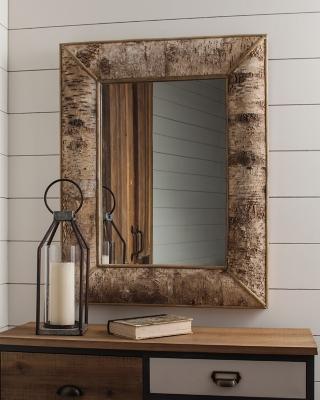 Ashley Josefa Accent Mirror, Brown