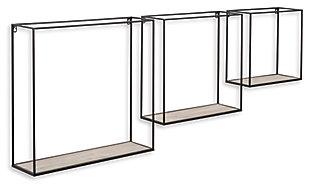 Efharis Wall Shelf (Set of 3), , large