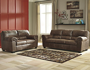 Large Bladen Sofa And Loveseat Coffee Rollover