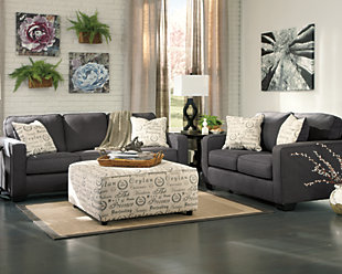 ... Alenya 3 Piece Living Room Set, Charcoal, Large ...