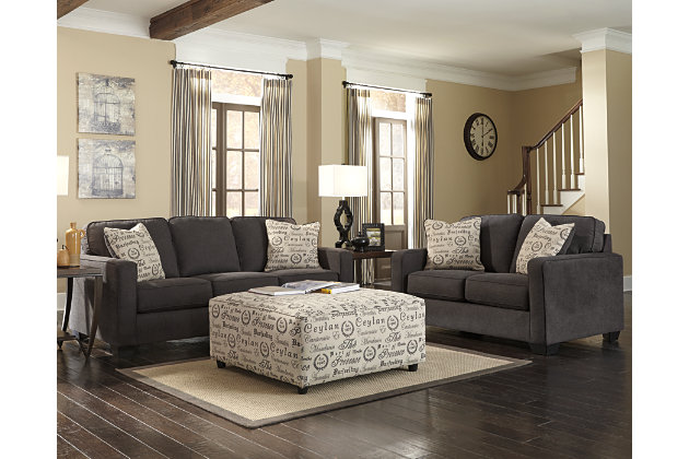 Alenya 3 Piece Living Room Set by Ashley HomeStore, Gray