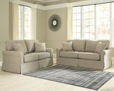 Loveseat Set Stone Sofa Product Photo 824