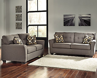 ... Large Tibbee Sofa And Loveseat, , Rollover