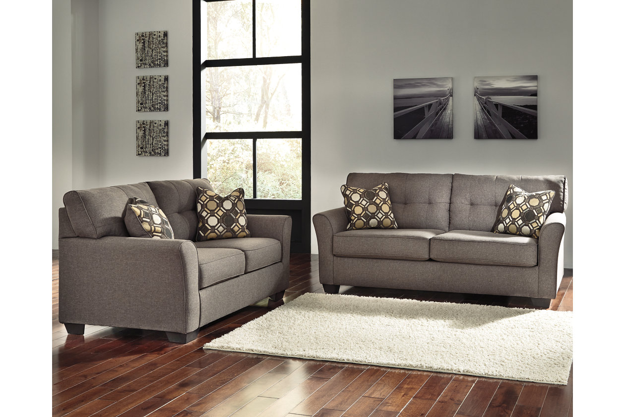 Pleasant Tibbee Sofa And Loveseat Ashley Furniture Homestore Home Interior And Landscaping Ologienasavecom