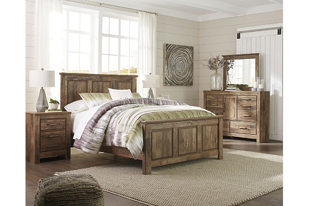 Blaneville 6-Piece Queen Bedroom, Brown, large