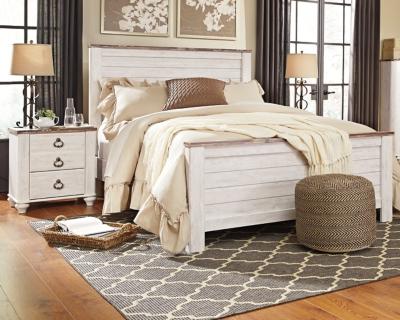 Bed Nightstands Slate Queen Product Photo 500