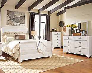 pictures of bedroom sets. Willowton 5 Piece Queen Master Bedroom  Sets Ashley Furniture HomeStore