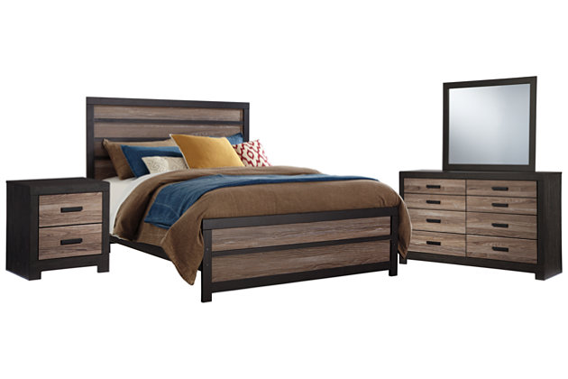 Harlinton 6-Piece Queen Bedroom | Ashley Furniture HomeStore